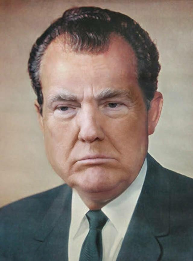 Trump as Nixon