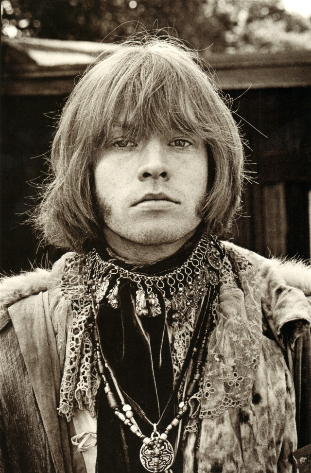Brian Jones at the Monterey Pop Festival 1967