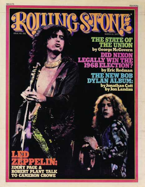 Jimmy Page Robert Plant - Rolling Stone