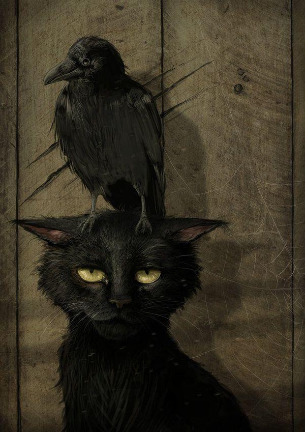 Halloween quoth the raven