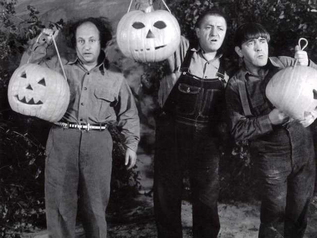 Halloween with the Stooges