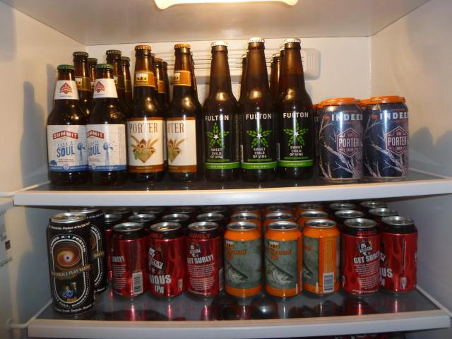 beer fridge fall 2018
