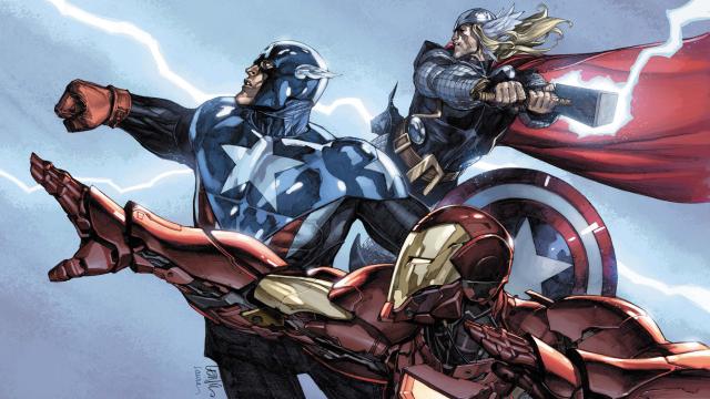 Avengers - Steve, Tony, Thor