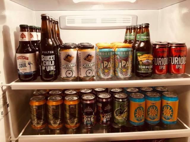 Beer fridge - Summer 2020